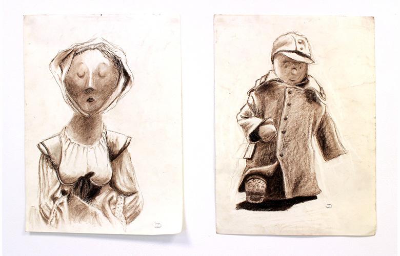 Marionnettes, Jacqueline Dubrulle