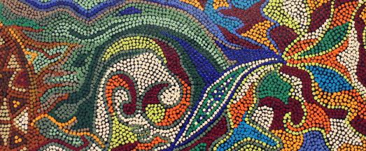 Retour sur l'atelier «Peinture aborigène» animé par Nicole Congard