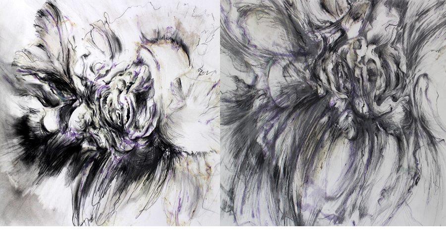 le plaisir au dessin – exposition de frédérique lesschaeve