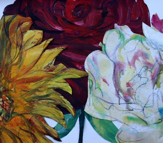«évocations», peintures d'Yvon Saillard