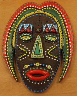 Retour sur l'atelier du samedi 18 mai «Masque en argile» animé par Elsa Doublet