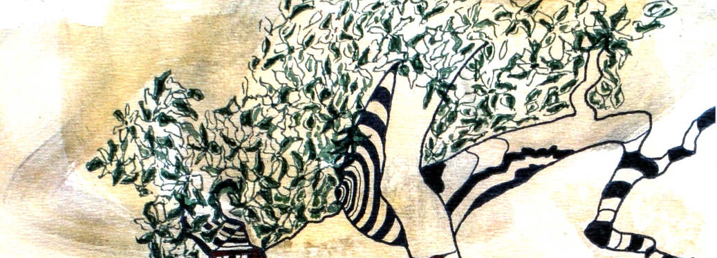 Yatra, correspondances et dessins – Françoise Figus