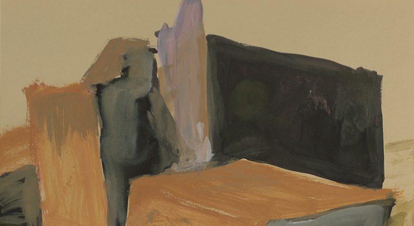 Que dire ? Dessins, peintures et collages de Gilles Allaire