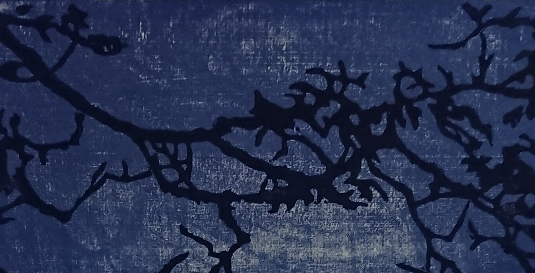 à la lisière – estampes et poèmes calligraphiés
