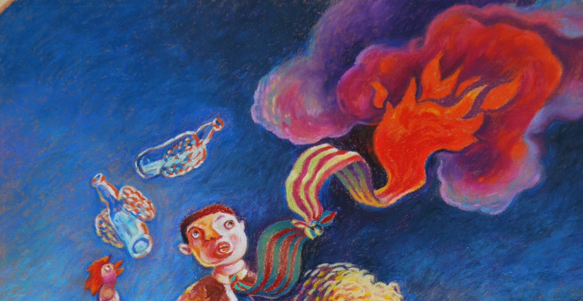 Retour sur l'atelier «Initiation au pastel gras» des samedis 4 et 11 mai animé par Hugo Ruales Hualca