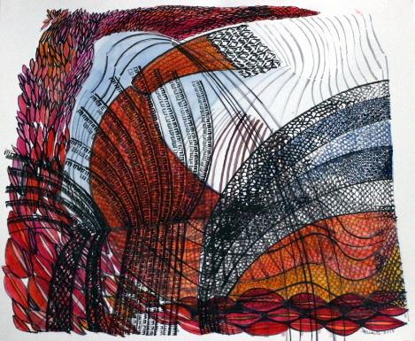 «L'Andalousie en lignes» – Merete Nissen