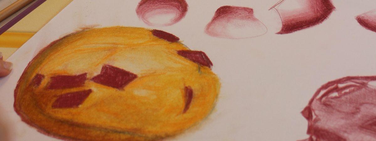 Retour sur l'atelier dessin «Cupcakes» animé par Bernard Olivié samedi 4 juillet 2020