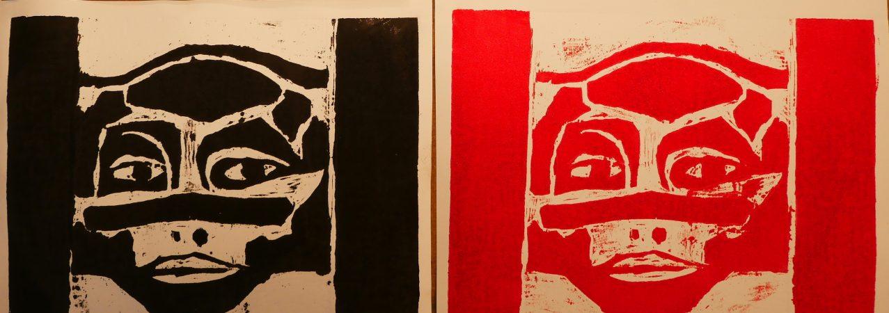 Retour sur l'atelier «Initiation à la gravure en taille directe» animé par Serge Allain samedi 25 janvier 2020