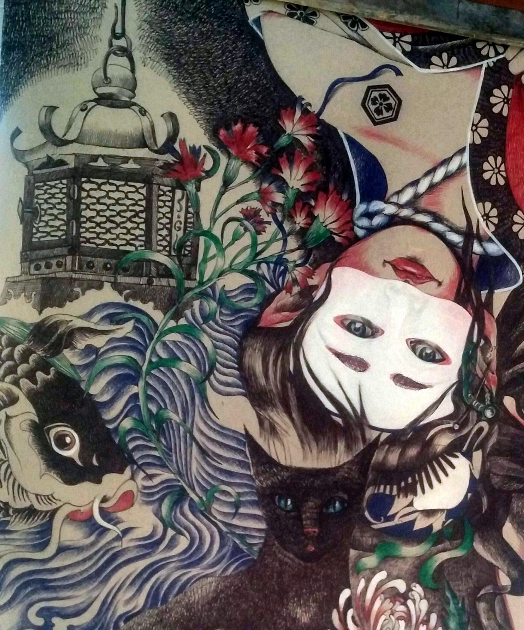 Gala Laskova présente ses dessins