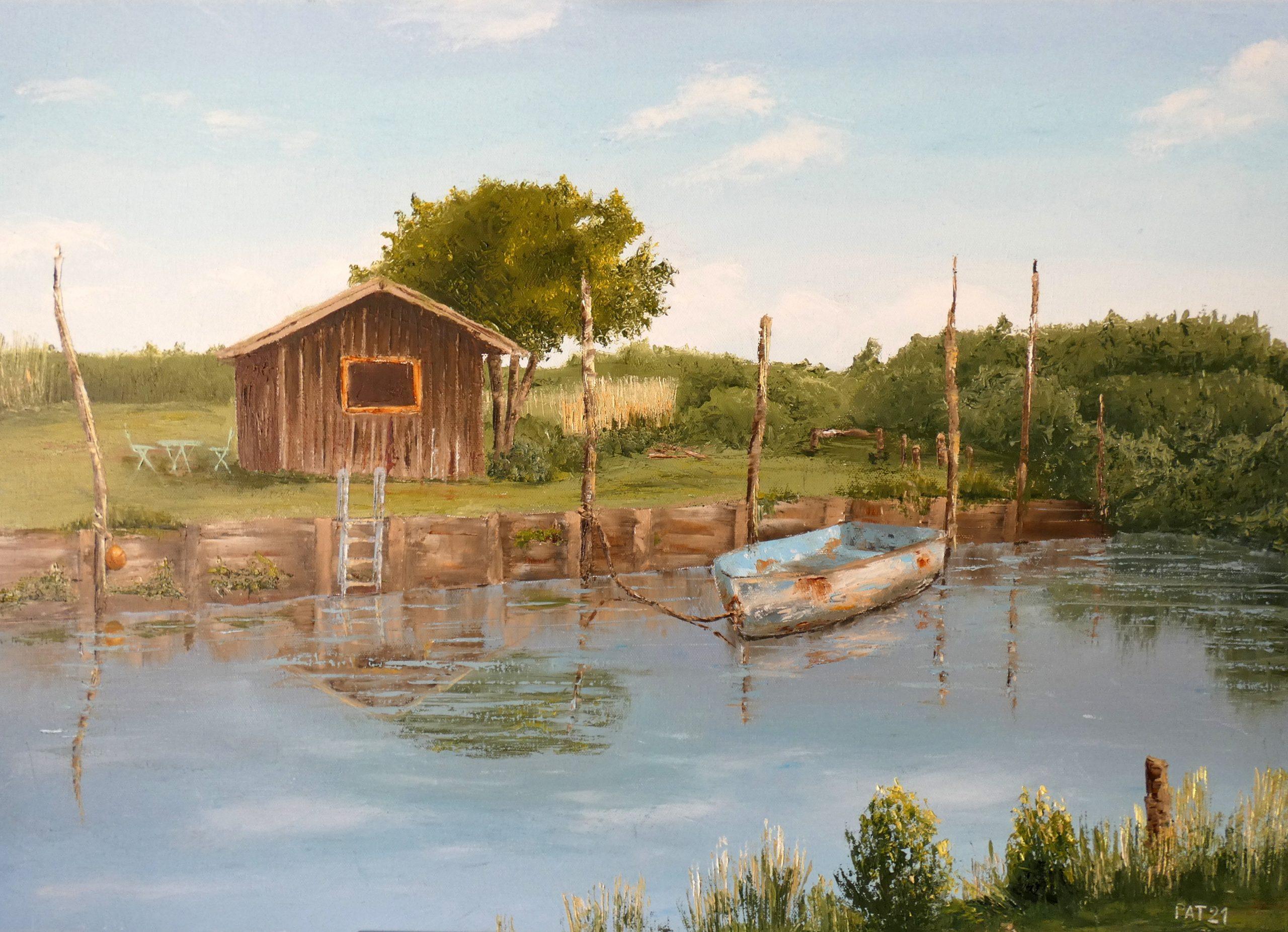 «Plages d'été» – exposition de Pat Dares