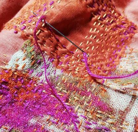 Déambulations textiles – Corinne Berthéas
